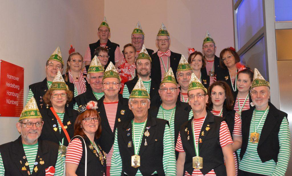 Gruppenbild vor der Sitzung 2017